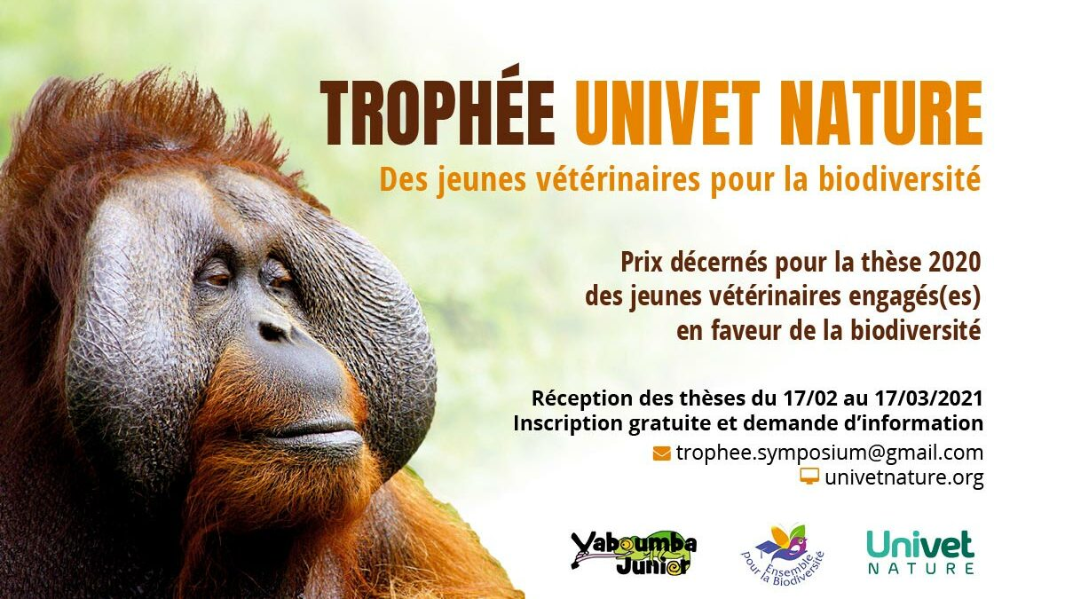 Le Trophée Univet Nature 2021 pour les jeunes vétérinaires